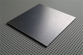 Stainless Steel Black Colour Sheets