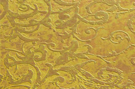 Stainless Steel Gold Etched Sheets